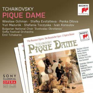 查卡洛夫/柴可夫斯基:黑桃皇后 (3CD)《索尼經典歌劇系列》