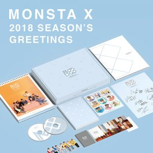 MONSTA X / 2018 Season's Greetings 台灣索尼版