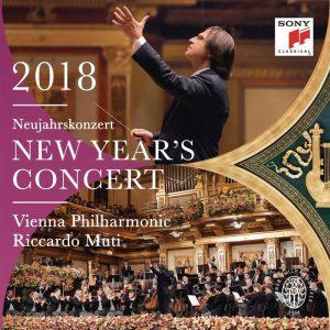 黎卡多‧慕提 & 維也納愛樂/2018維也納新年音樂會 (2CD)