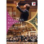黎卡多‧慕提 & 維也納愛樂/2018維也納新年音樂會 (DVD)