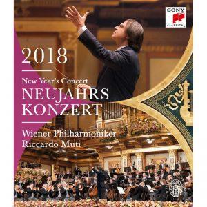 黎卡多‧慕提 & 維也納愛樂/2018維也納新年音樂會 (BD)