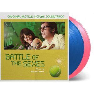 尼可拉斯‧布里特爾/勝負反手拍 電影原聲帶(2LP黑膠) 限量藍+粉雙色彩膠