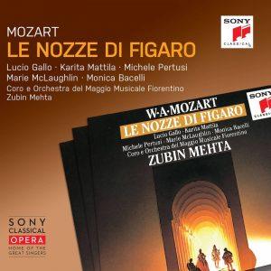 祖賓‧梅塔/莫札特:費加洛婚禮 (3CD) 索尼經典歌劇系列》