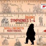 馬利歐‧凡薩戈/布拉姆斯交響曲全集 & 小夜曲作品 (3CD)