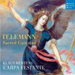 節慶豎琴古樂團/泰雷曼:五首宗教清唱劇(世界首度錄音)