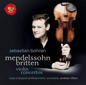 賽巴斯汀波仁/孟德爾頌&布列頓:小提琴協奏曲;柴可夫斯基:憂鬱小夜曲