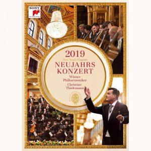 克里斯提安提勒曼&維也納愛樂/2019維也納新年音樂會 (DVD)
