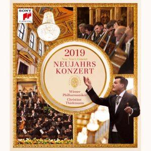 克里斯提安‧提勒曼&維也納愛樂/2019維也納新年音樂會 (BD)