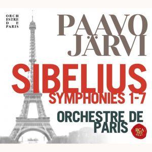帕佛賈維&巴黎管弦樂團/西貝流士:交響曲全集 (3CD)