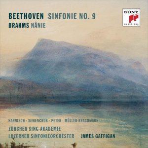 詹姆斯加菲根/貝多芬:第九號交響曲《合唱》&布拉姆斯:悲歌 (2CD)