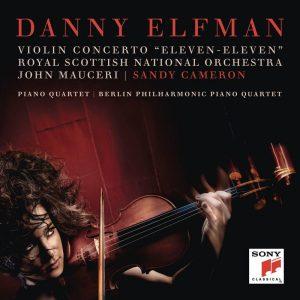 丹尼葉夫曼/小提琴協奏曲「1111」&鋼琴四重奏