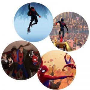 丹尼爾彭伯頓/蜘蛛人:新宇宙 電影原聲配樂 (2LP黑膠) 首批限量雙面電影視覺彩膠