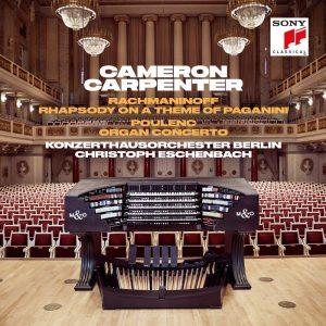 卡麥隆卡本特/拉赫曼尼諾夫:帕格尼尼主題狂想曲 & 普朗克:管風琴協奏曲