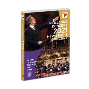Riccardo Muti & Vienna Philharmonic / New Year's Concert 2021 (DVD)