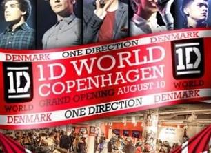 One Direction åbner en butik i København
