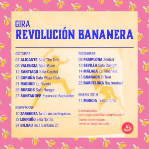 """Arnau Griso publican """"Desamortil"""", tercer adelanto de su nuevo álbum """"Revolución bananera"""""""