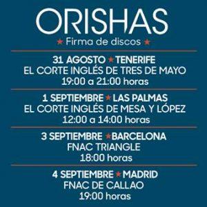 """Orishas publican hoy su nuevo álbum """"Gourmet"""" en formato físico y anuncian cuatro firmas de discos en España"""