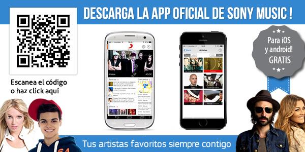 Descarga La App De Sony Music En Tu Móvil