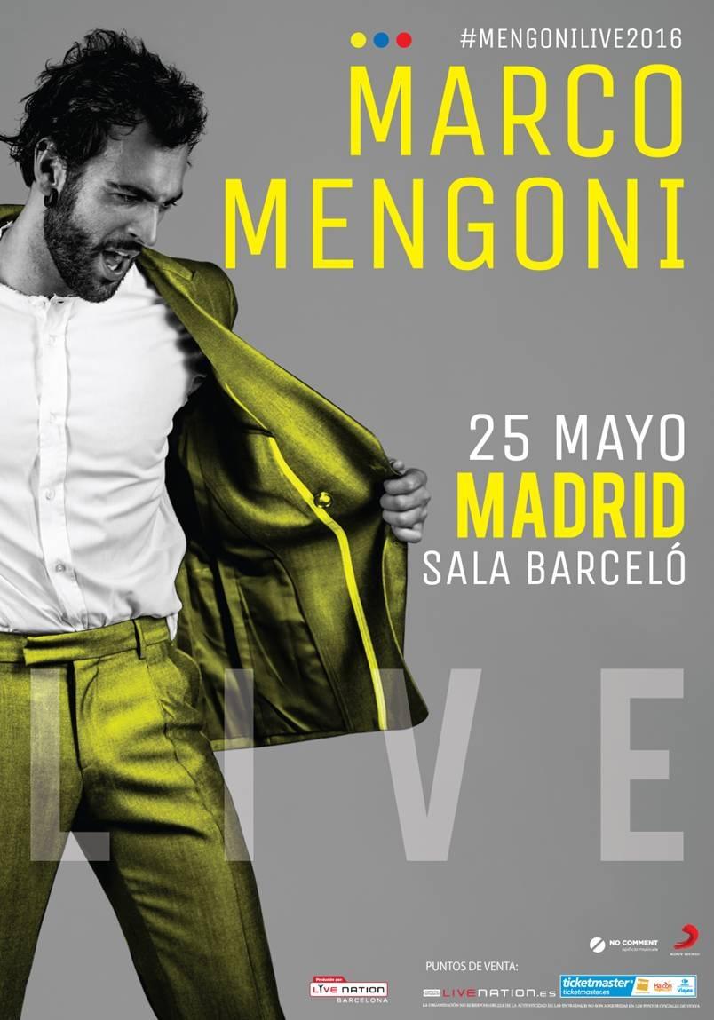 Marco Mengoni publica hoy \