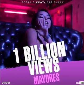 1 billion views becky G