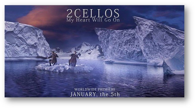 2CELLOS my heart will go on