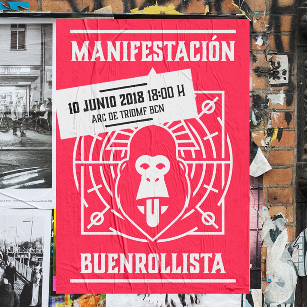 Arnau Griso convocan la primera Manifestación Buenrollista de la historia