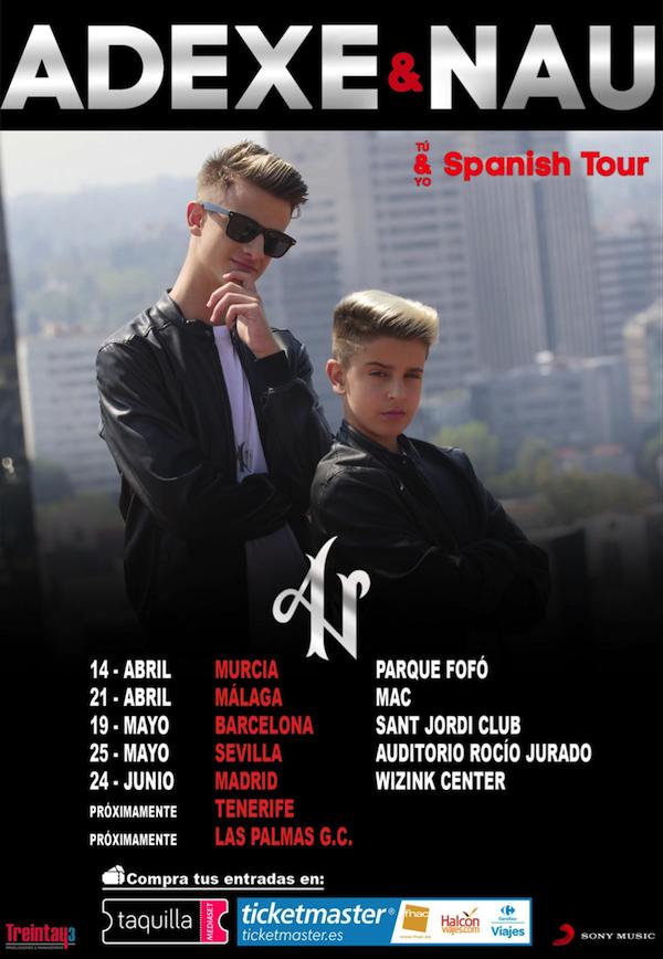 Anexe & Nau anuncian las primeras fechas de su gira por España