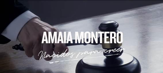 """El vídeo de """"Nacidos para creer"""" de Amaia Montero acumula más de 4 millones de reproducciones"""