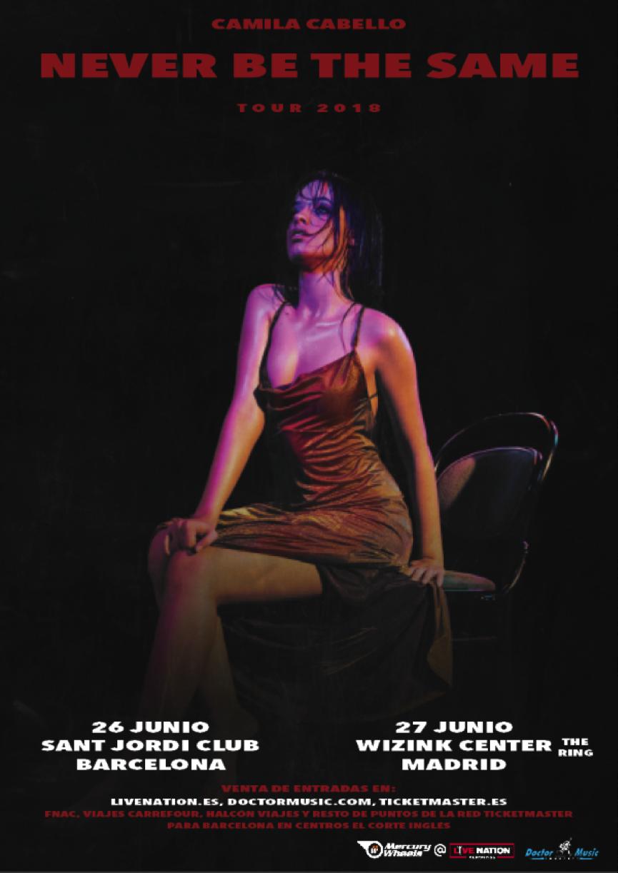 Camila Cabello anuncia gira por España
