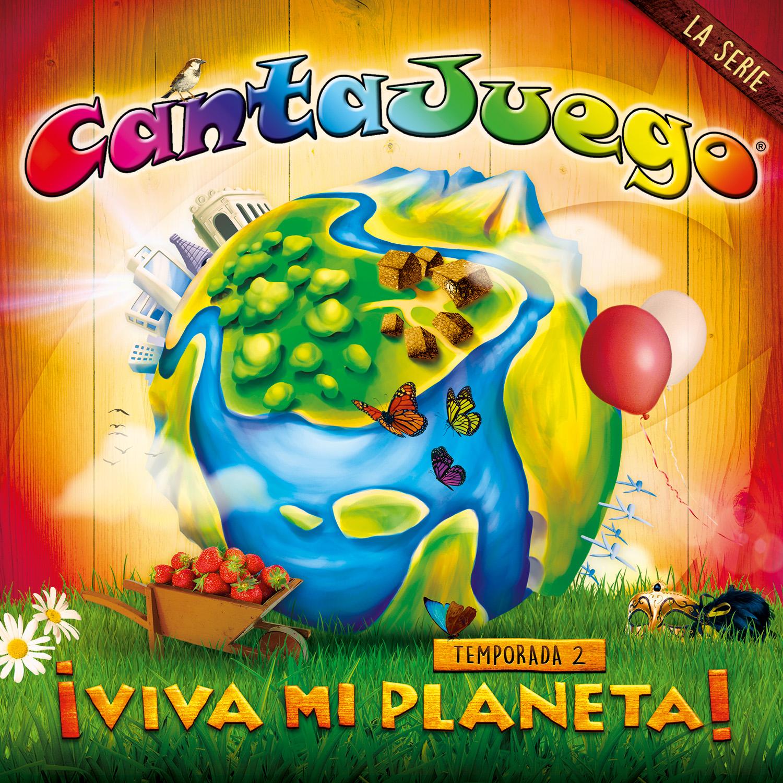 Ya a la venta ¡Viva mi planeta 2!, el nuevo CD+DVD de Cantajuego