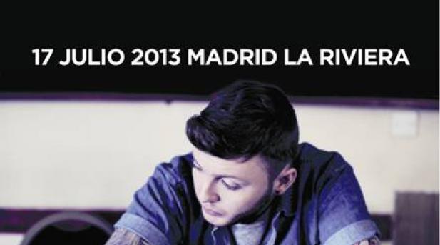James Arthur anuncia nueva fecha de concierto en Madrid el 17 de Julio de 2014 en la sala La Riviera