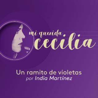"""India Martínez rinde homenaje a Cecilia con su versión de """"Un ramito de violetas"""""""