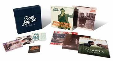 """Dani Martín lanza """"Grandes éxitos y pequeños desastres"""", una caja de lujo con toda su discografía en solitario"""
