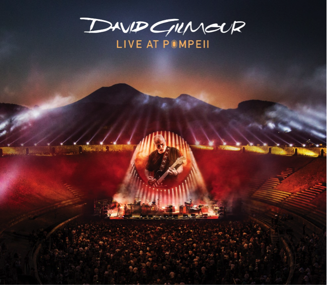 "Ya a la venta ""David Gilmour – Live in Pompeii"""