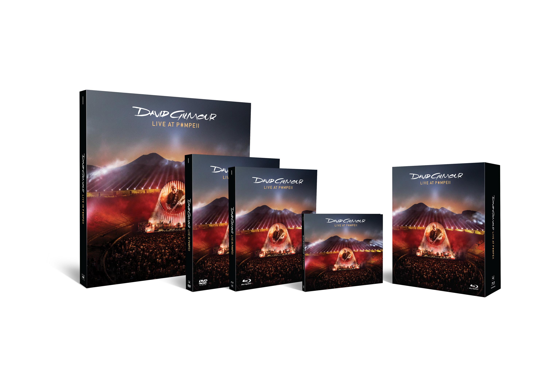 """David Gilmour publicará el 29 de Septiembre """"Live At Pompeii"""""""