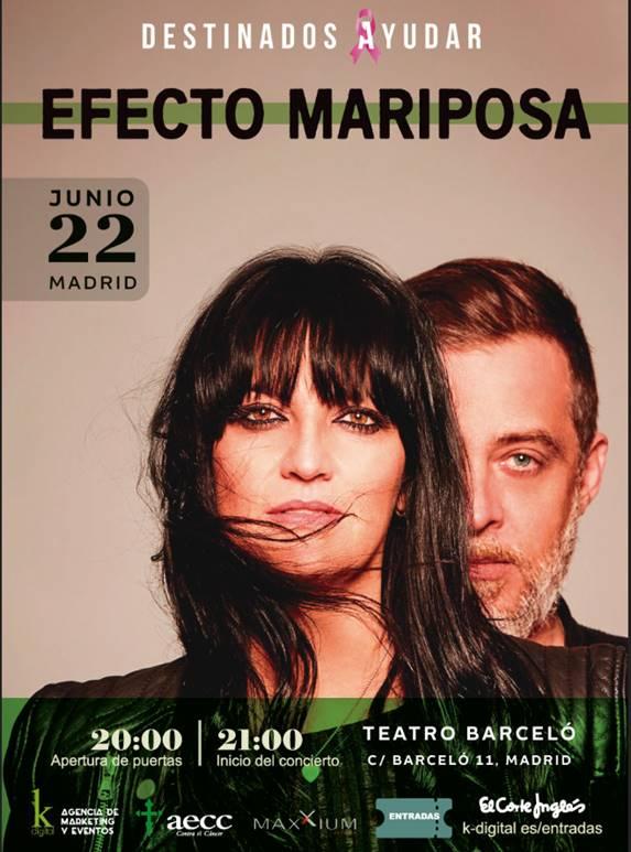 Efecto Mariposa ofrece un concierto a beneficio de la AECC