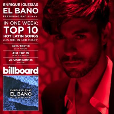 Enrique Iglesias El Baño Billboard