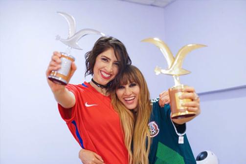 Ha*Ash ganan las Gaviotas de Oro y Plata en el Festival Internacional de la Canción Viña del Mar