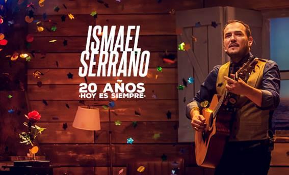 Ismael Serrano celebra sus 20 años de carrera sobre el escenario