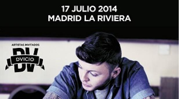 DVICIO artistas invitados de JAMES ARTHUR en Madrid