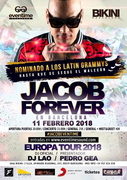 Jacob Forever anuncia gira española en febrero