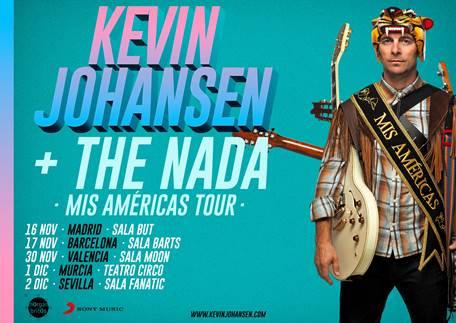 """Kevin Johansen + The Nada presentan """"Mis Américas"""" en directo en España"""