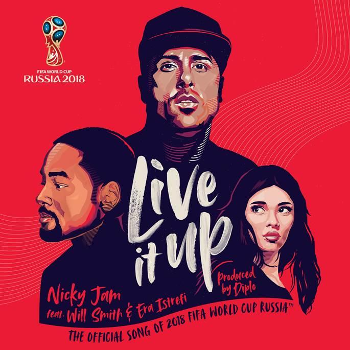 """Escucha """"Live it Up"""": Canción oficial del Mundial de Fútbol de Rusia en la que colaboran Nicky Jam, Will Smith, Diplo y Era Estrefi"""