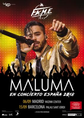 Maluma Gira España