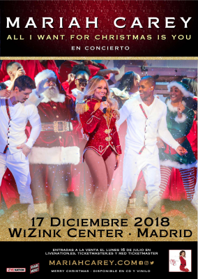 Mariah Carey Cartel Madrid