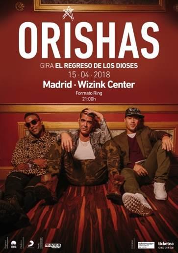 Orishas vuelven a los escenarios y se preparan para su concierto en el WiZink Center de Madrid