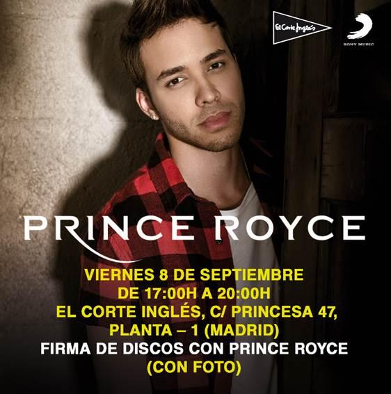 ¡Prince Royce vuelve a España!