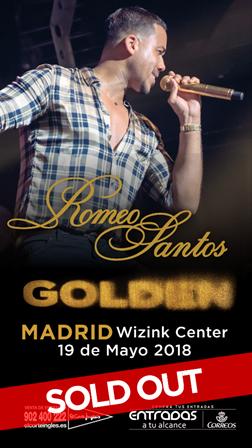 Romeo Santos agota las entradas para su concierto en Madrid