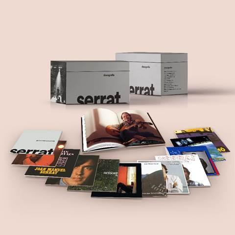 """Serrat lanza """"Discografia"""", una caja de 12 CD con toda su obra en catalán"""