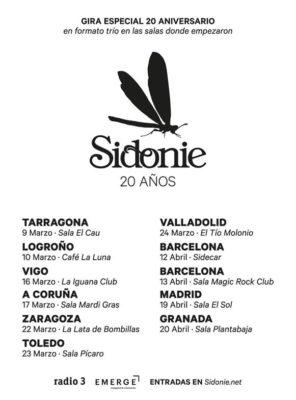 Sidonie 20 años